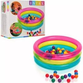 Bazen igraonica za najmladje + 50 raznobojnih loptica