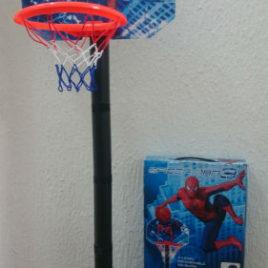 Veliki Spiderman koš na postolju 93 cm + lopta