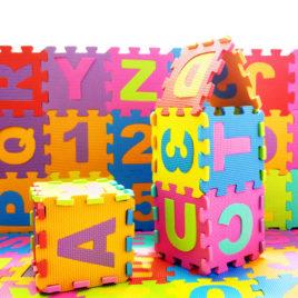 Podne mekane puzzle pakovanje 10 komada