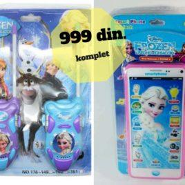 Toki Voki Frozen i Telefon fantastičan komplet akcija