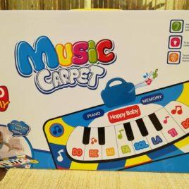 Veliki edukativni muzički tepih za bebe