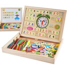 Drveni set – Matematicka tabla
