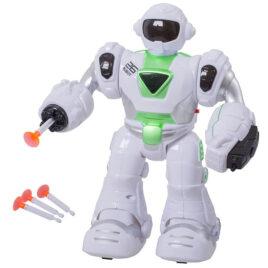 Robot  na baterije ( svetlo + zvuk)