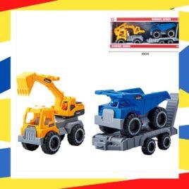 Set kamion viljuskar i kamion kiper